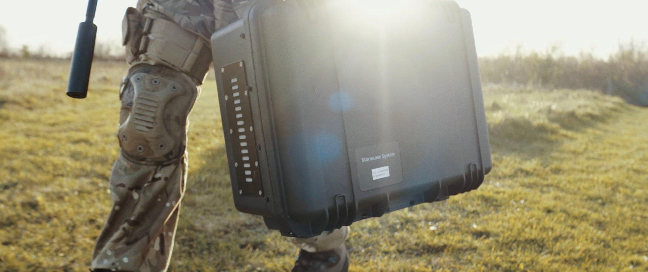 RFeye Stormcase being carried